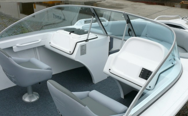Marquis Front of Boat