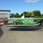 Green Croc Boat Wrap