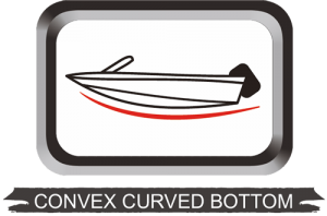 Convex Curved Bottom